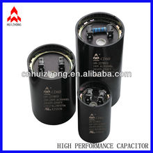 CD60 Black ac electric motors starting capacitor