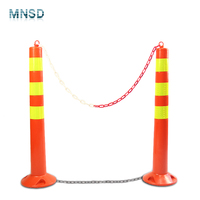 75cm PU warning post delineator post rebound warning post road safety warning column