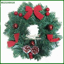 Christmas Decorated Grapevine Wreaths