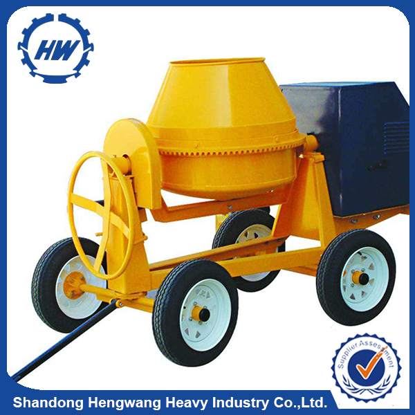 350L Diesel Gas Electric Engine Powered Concrete Mixer For Sale