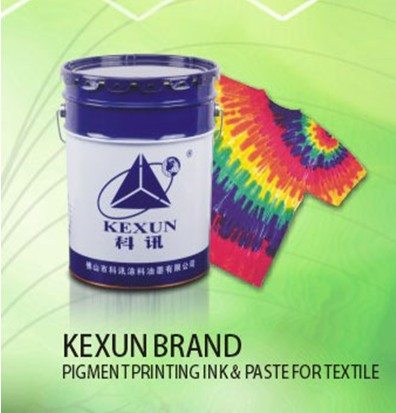 Elastic white paste printing for the textile