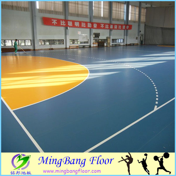 Synthetic basketball court flooring, used sport court sale