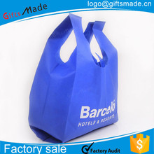 wholesale foldable clothing non woven fabric garment grocery bags