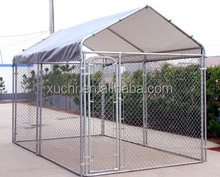 Cheap 6-Ft. High Modular Dog Kennel chain link fence pet cage