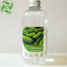 Pure and natural no chemical component Cucucmber hydrosol Cucumber water