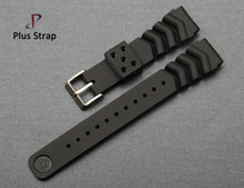 Luxury silicone watch band rubber waterproof wrist buckle belt for diving ghost watches