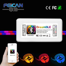 Dream color bluetooth wifi LED strip controller for digital color APP download free FC-PB-BT01