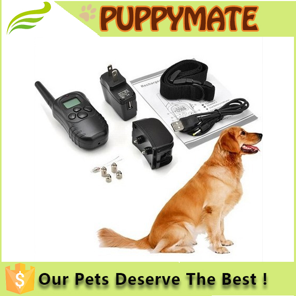 2016 China Water Resistant Remote Training Electronic collar pet Dog Shock Collar For Humans Dog Slave Shock Collar Electric