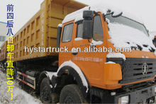 high quality Beiben 6x4 dump truck benz technology used tiper truck with cheap price