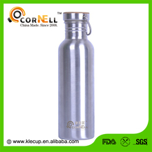 Promotion Mention buckle Subzero stainless steel and Bamboo lid water bottle