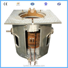 New design small electric aluminum smelting / melting furnace