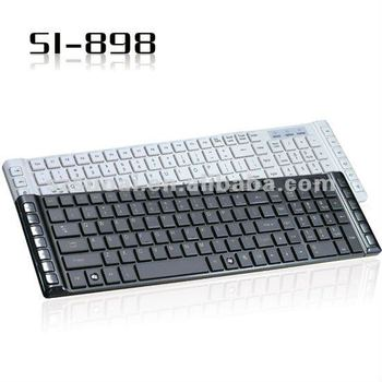 hot multimedia ultra thin keyboard