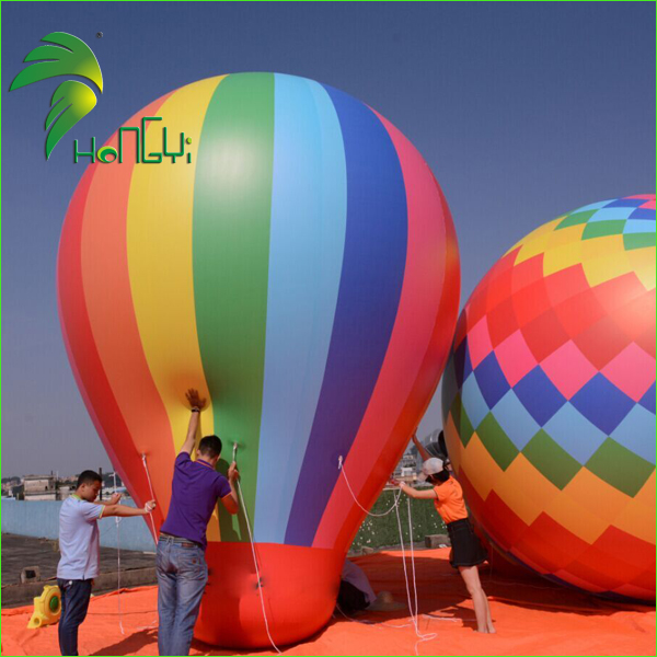 Hot Air Helium Balloon Shape / Floating Inflatables Helium Sky balloon