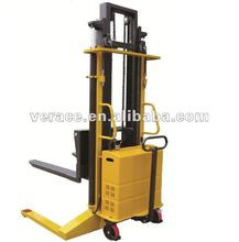 VR-ES 2Ton Semi Electric Forklift Battery Straddle Leg Stacker For Sale