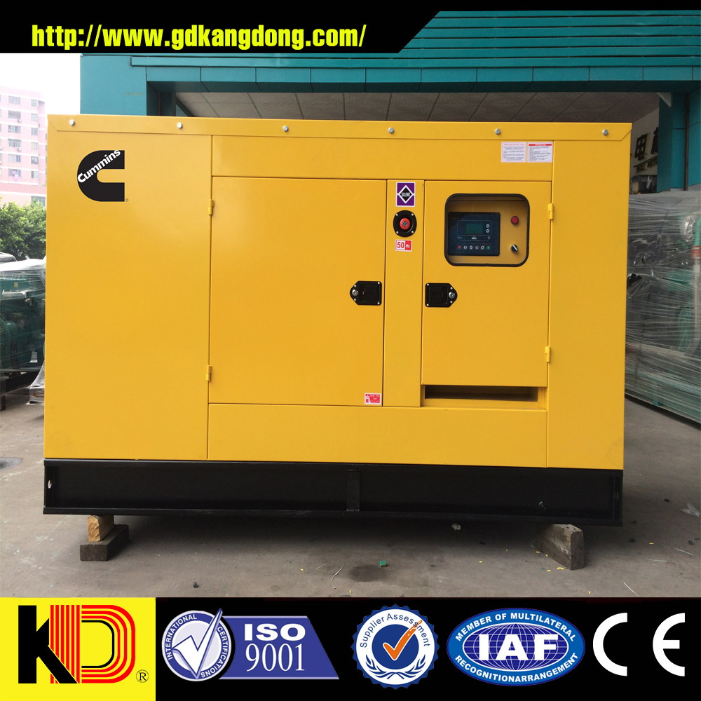 Autermatic start and electronical governor silent diesel generator powered by CUMMINS engine