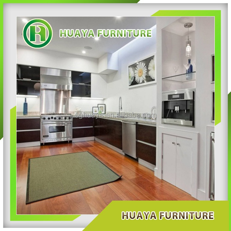 China supplier new model kitchen cabinet solid wood buy for New model kitchen