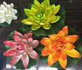 Aquarium Fish Tank Floating Decor Water Lily Bud Bloom Flowers Artificial Lotus