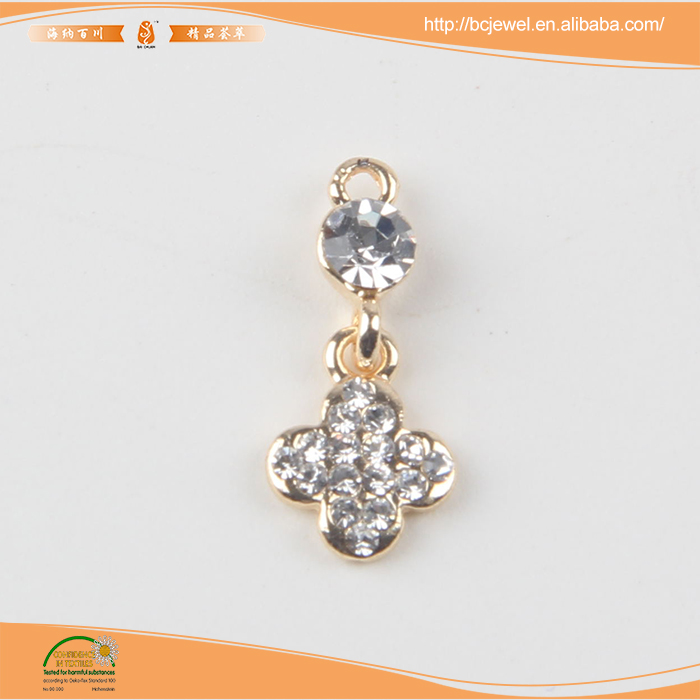 High quality crystal jewelry 20K gold plated pendant