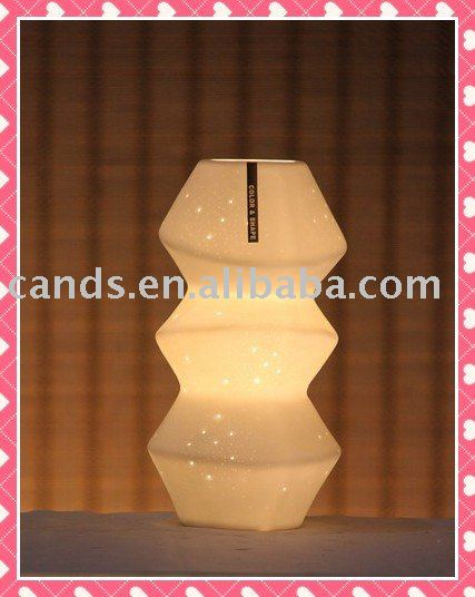 Warm Color Porcelain Decorative Night Lamp