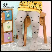 Morewin hot sale kids tight leggings korean baby girls leggings wholesale price baby leggings