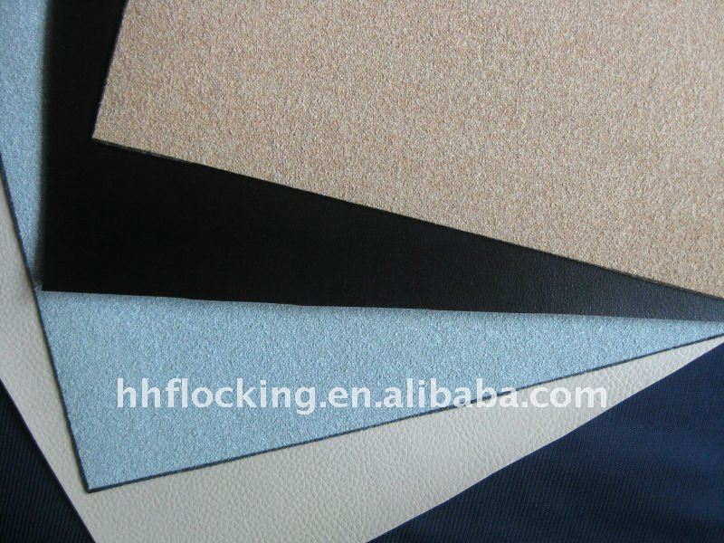 flock PU synthetic leather use for sofa
