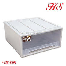 wholesale makeup organizer transparent chest of drawers plastic storage drawers shoe box