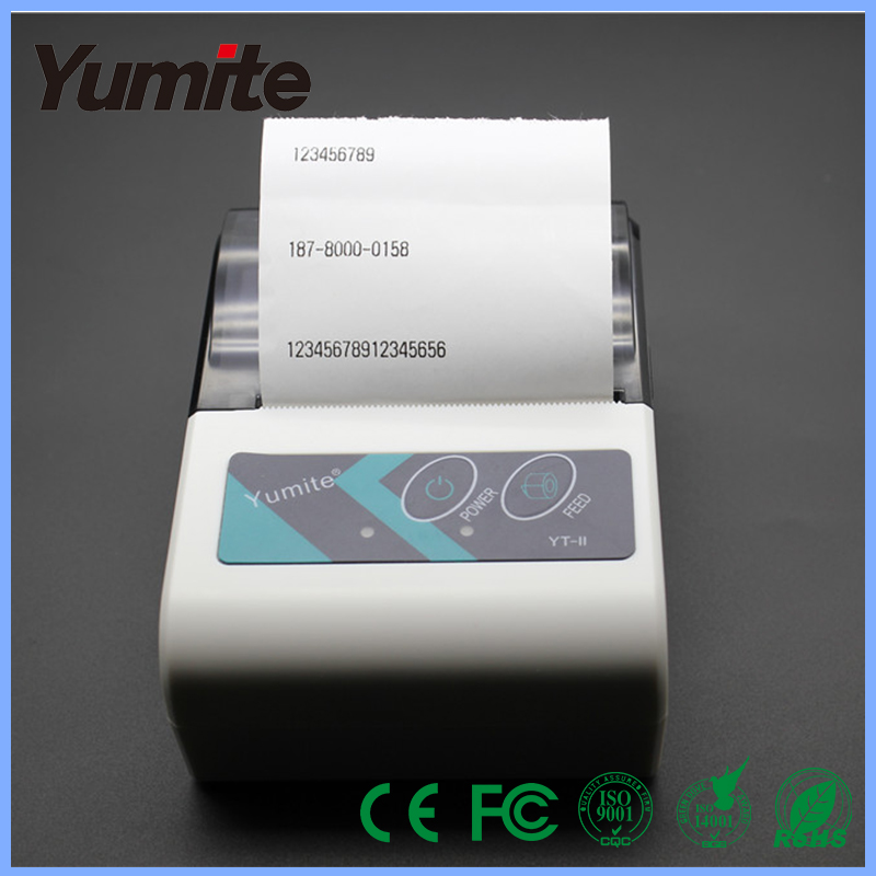 Mini Wireless 58mm Portable Bluetooth Thermal Receipt Printer for Android