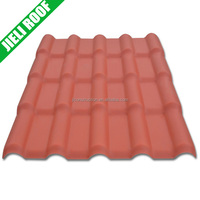 Synthetic spanish plastic roof tile