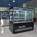 1500mm Square Glass Cake Showcase for Bakery Shop