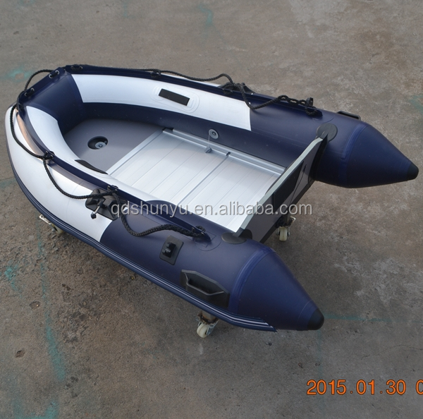 Inflatable rubber boat small boat fishing boat for 2 for Inflatable fishing boats for sale