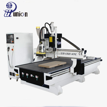 Auto Tool Changer Cnc Wood Router / 1325 Furniture Engraving Cutting Machine / Wood Carving Router for Hot Selling