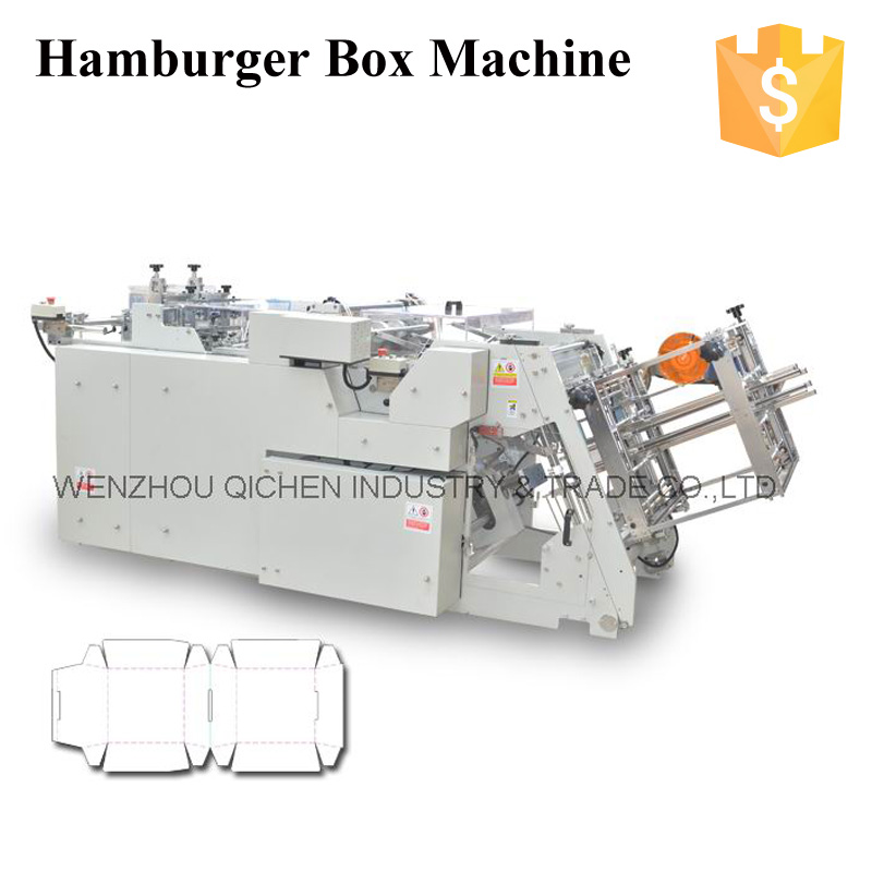 Manufacturer High Speed Good Quality QH-9905 juice box packing machine