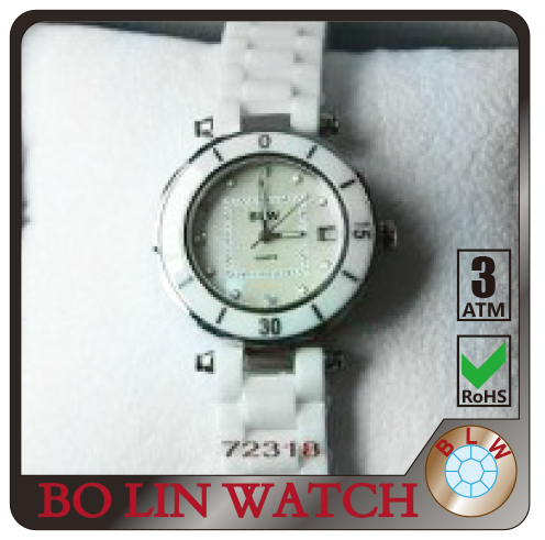 real Diamante watch diamond quartz,Diamond trendy quartz watch water resistant, Diamond white watch