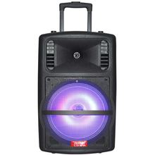 Flashing LED speaker Bluetooth usb card portable colorful active pa speaker with EQ equipment