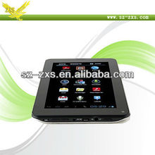 ZXS- Best Price Allwinner A13 1.2GHz CPU Android Tablet laptop Computer with Phonecall/Camera/Music/Movie/Game Function A13-747