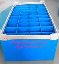 high quality cheap Folding Corrugated Plastic Reusable BoX
