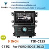 S100 Car DVD Player For Ford Edge 2013 with GPS A8 Chipset 3 zone POP 3G/wifi BT 20 dics playing