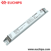 Shanghai Euchips new product 900/1000/1100/1200mA 1 channel 50W DALI constant current led dimmable driver