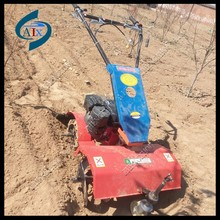 Petrol engine hand push rotary tiller cultivator /weeding machine
