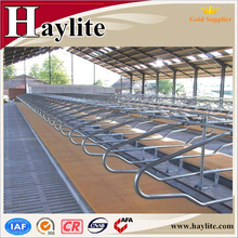 Galvanized cow cattle free stalls cubicles