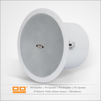 30W and 8ohms PA Ceiling Home Speaker With Coaxial and Metal cover