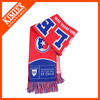 Winter warm scarves wholesale Cheap knitted soccer scarf