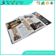 perfect adhesive binding magazine catalog book printing and design service