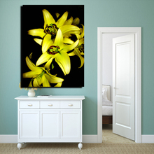 high quality high quality customized canvas painting with gold foil