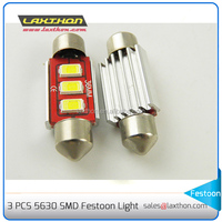 CE RoHS 31MM 36MM 39MM 3SMD 5 canbus Festoon canbus 5630 led auto lamp