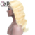 Wholesale Price 613 Blonde Body Wave Indian Human Hair Lace Front Wigs For Black Women