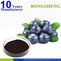 Organic Bottled European Bilberries Fruit Extract