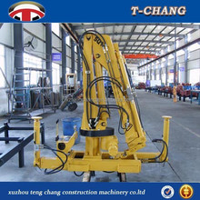 hot sale 1ton portable knuckle boom small lift crane with ISO9001