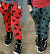 Wholesale Clothing 2015 Fashion Stars Pattern Harem <strong>Boy's</strong> <strong>Pant</strong>
