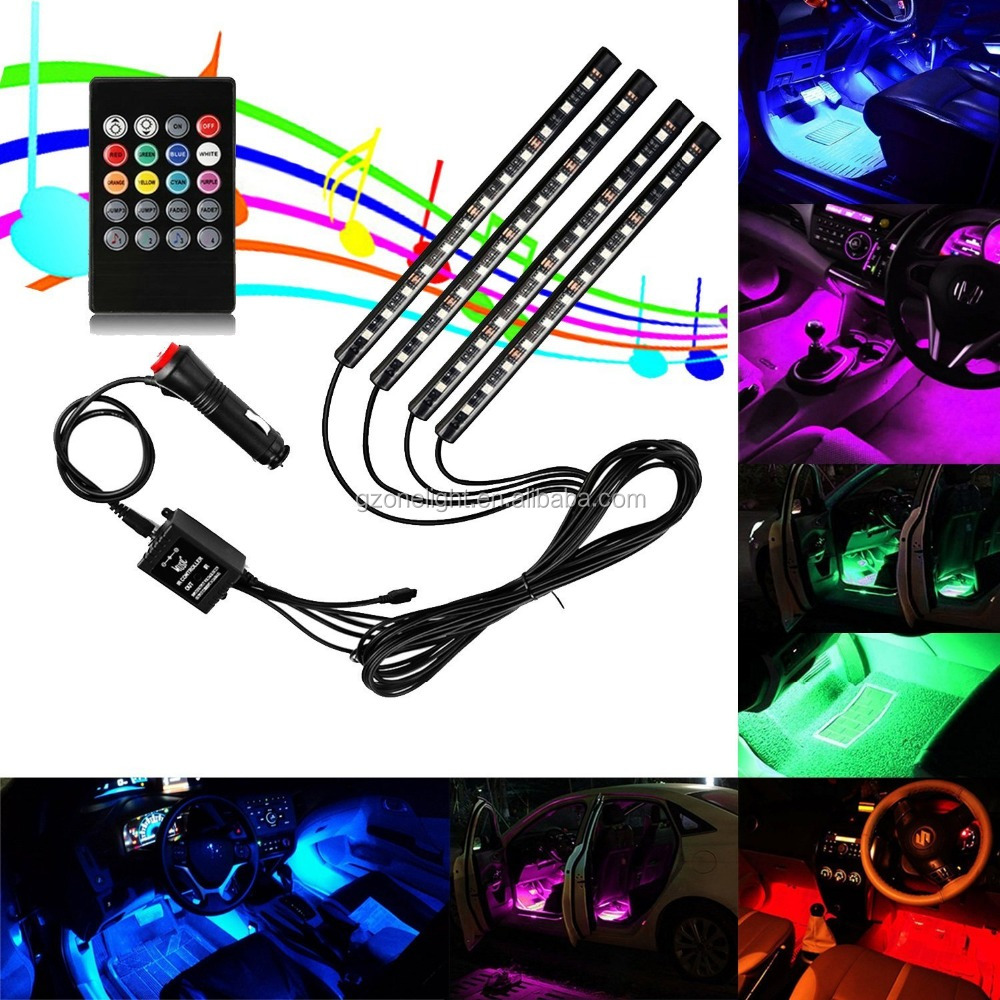 Popular Car Decoration Lamp Led Car Atmosphere Lights Auto Interior rgb led atmosphere light